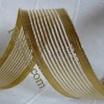 Тъкани панделки - злато, сребро
